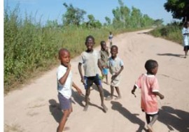 Children in Southern Gambia